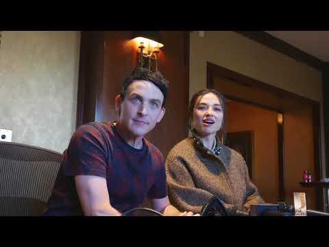 Robin Taylor and Crystal Reed Talk Gotham on FOX