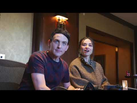 Robin Taylor and Crystal Reed Talk Gotham on FOX