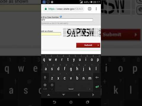 HOW TO CHECK STATUS OF YOUR US VISA AND TRACK YOUR PASSPORT.