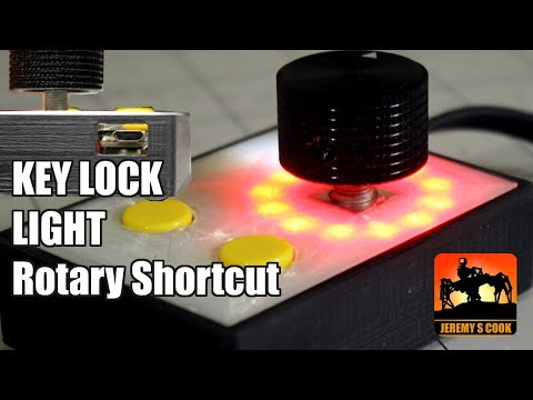 PC Shortcut Knob WITH Caps Lock AND Stay Awake Function [Arduino]