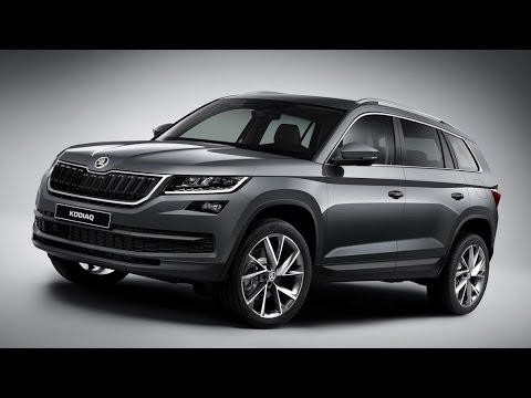 skoda kodiaq 7 seater suv fully revealed youtube. Black Bedroom Furniture Sets. Home Design Ideas