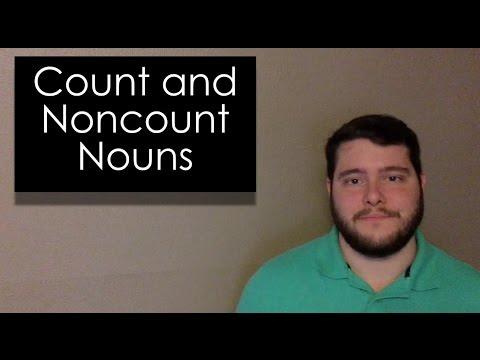 Count and Noncount Nouns - Quick English Grammar Lesson - Conley\u0027s