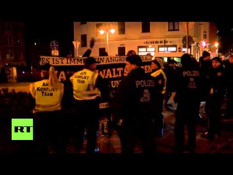 Germany: COGIDA - a PEGIDA inspired protest group - hold first demo