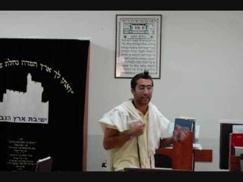 Eric Setton Eretz HaTzvi Friday morning Dvar Torah