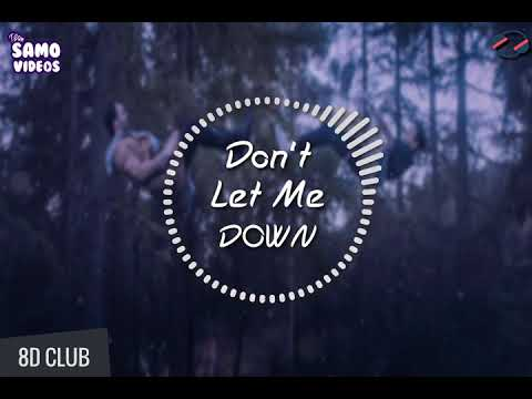 Don't Let Me Down - 8D Audio 🎧 - The Chainsmokers Ft. Daya || With Lyrics