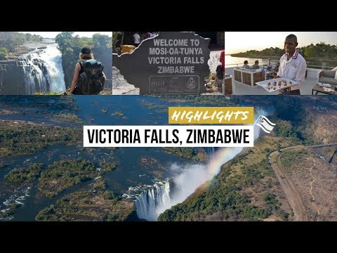 Best of Victoria Falls: Highlights am Naturwunder Viktoriafälle Zimbabwe 2016