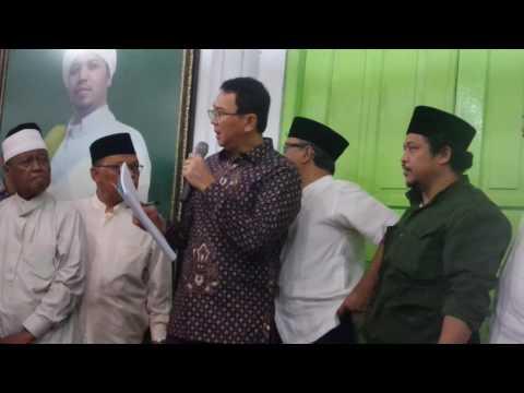 Gubernur DKI Basuki Tjahaja Purnama atau Ahok Kesal saat tahu SK Cagar Budaya Mbah Priok Tidak Ssuai