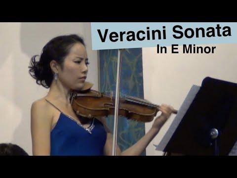 Veracini Violin Sonata in E minor played by JaeIn Shin.(Complete)