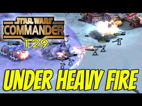 Star Wars Commander Empire #129 - UNDER HEAVY FIRE ! (Heavy Stormtroopers challenge)
