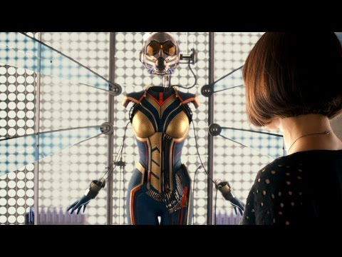 ANT-WOMAN Suit Reveal - ANT-MAN Post-credits Scene poster