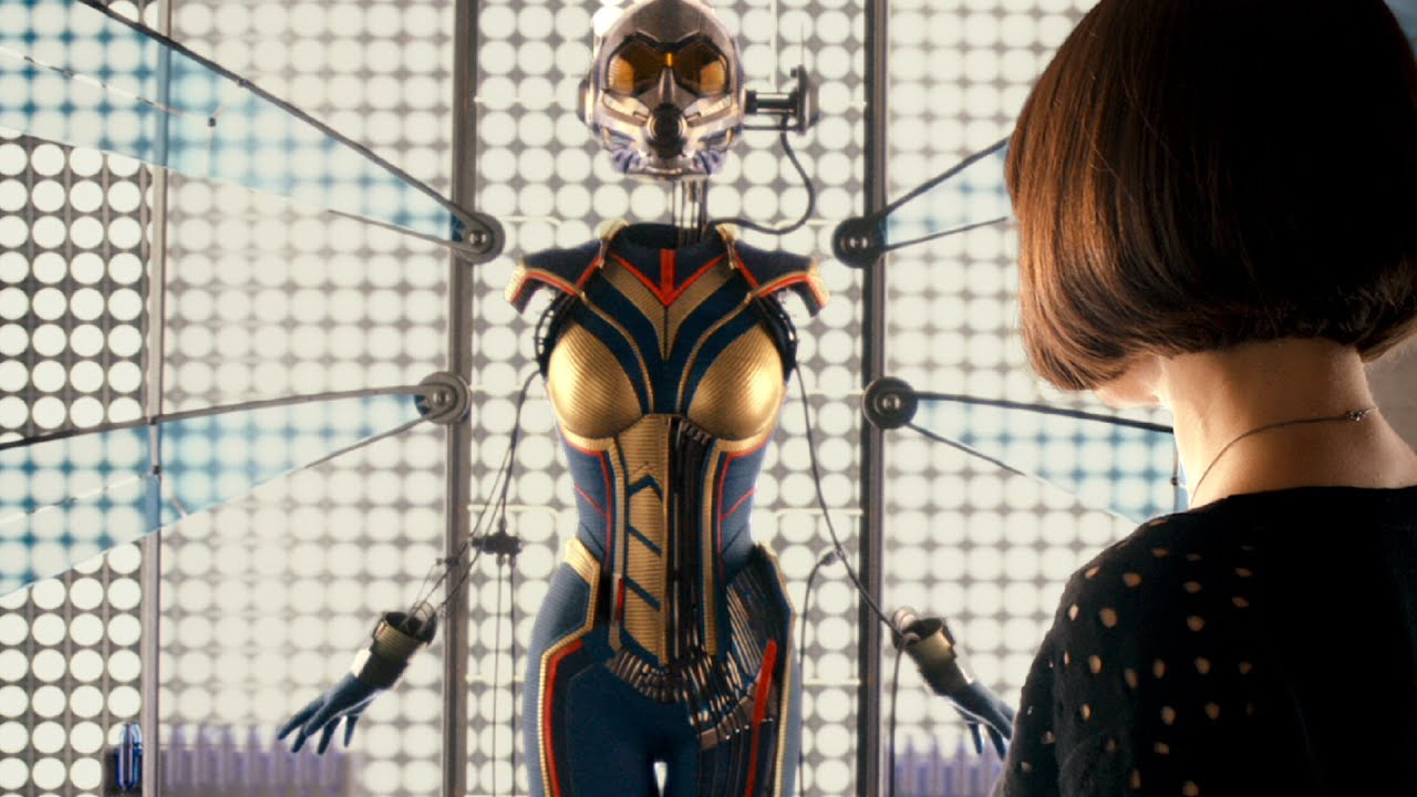 Image result for antman post credits wasp