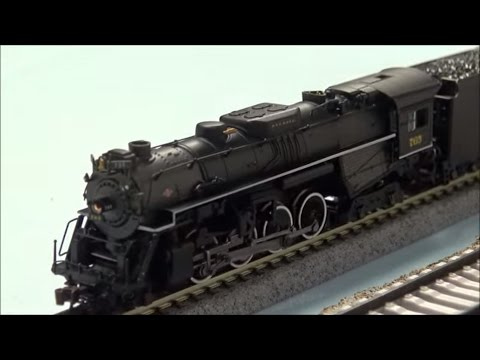 Review: Bachmann N Scale Berkshire 2-8-4 Steam #765