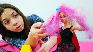 Барби в салоне красоты: Накладные волосы или испорченное свидание?
