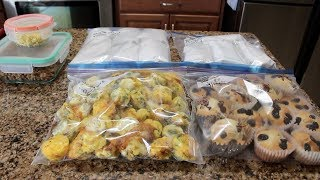 Breakfast Freezer Meal Prep! ~Burritos, Muffins & Egg Poppers!~