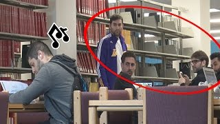 Baixar Accidentally Blasting Embarrassing Songs in the Library Prank