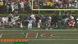 THE GREATEST MIAMI HURRICANE VIDEO OF ALL TIME