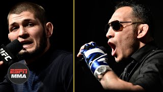 Best of Khabib Nurmagomedov-Tony Ferguson press conference | ESPN MMA