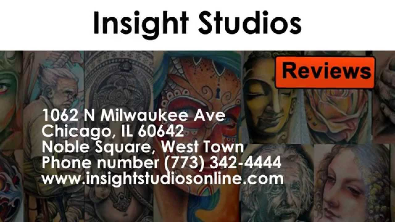 5d97885f0 Insight Studios - REVIEWS - Chicago, IL Tattoo Parlors Reviews - YouTube