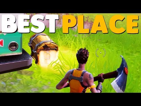 5 BEST PLACES To Land In Fortnite Battle Royale