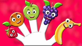 Плоды Палец Семья | Палец Песня | Рифмы для детей | Baby Finger Song | Fruits Finger Family