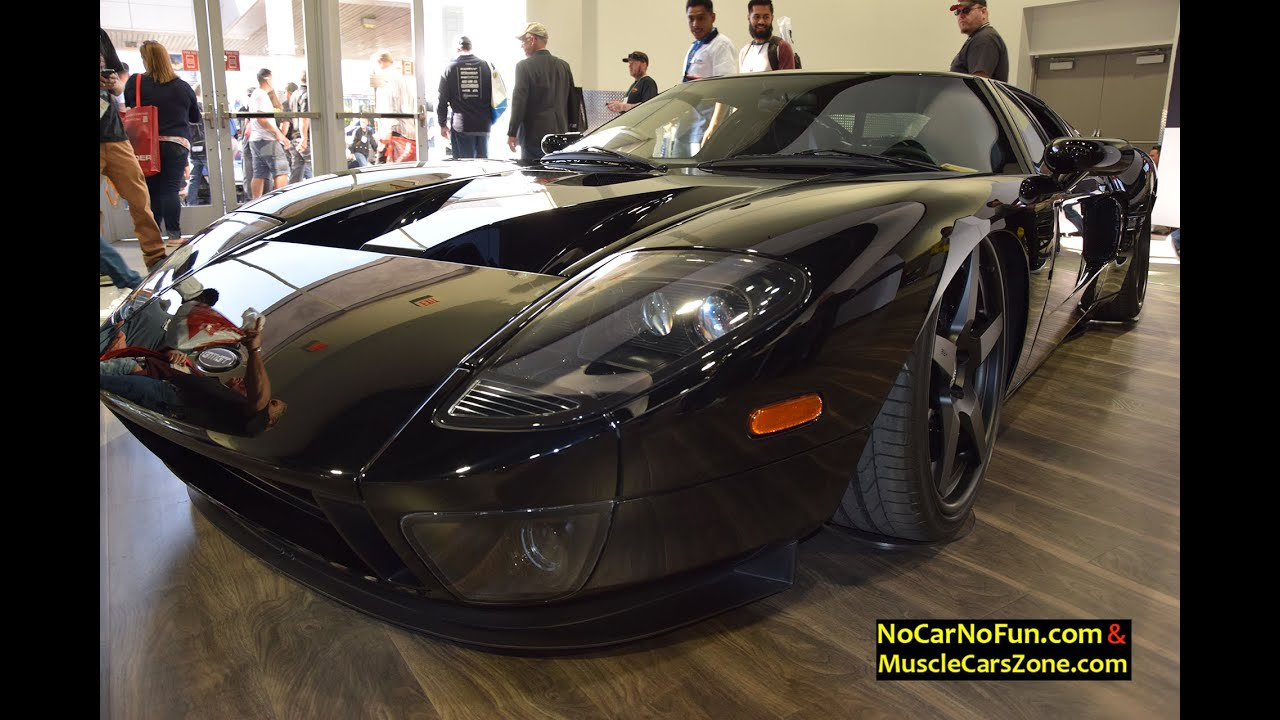 Ford Gt Build By Gas Monkey Garage At  Sema Motor Show