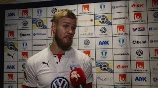 Malmö FFs målvakt Fredrik Andersson efter Malmö FF - AIK thumbnail