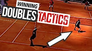 WINNING Doubles Tactics - strategy tennis lesson