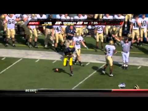 Michigan Football 2010  Drop The World