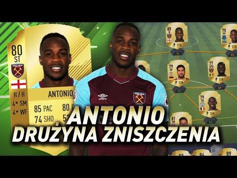 FIFA 18 - Najlepszy starter z rzeźnikiem Antonio!
