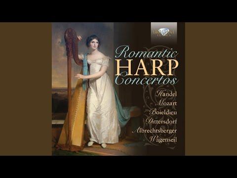 Harp Concerto In A Major: II. Larghetto