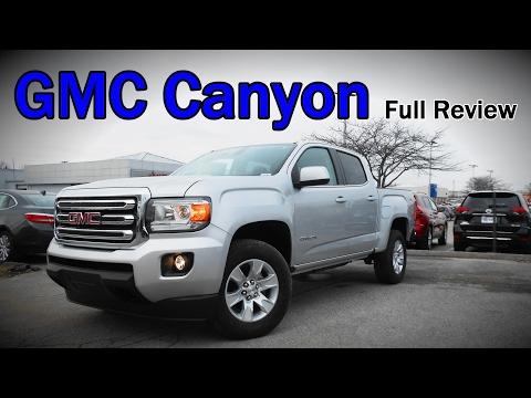 2017 GMC Canyon: Full Review | Denali, SLT, SLE & Diesel