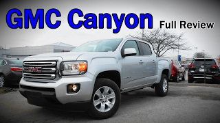 2017 GMC Canyon: Full Review | Denali, SLT, SLE & Diesel