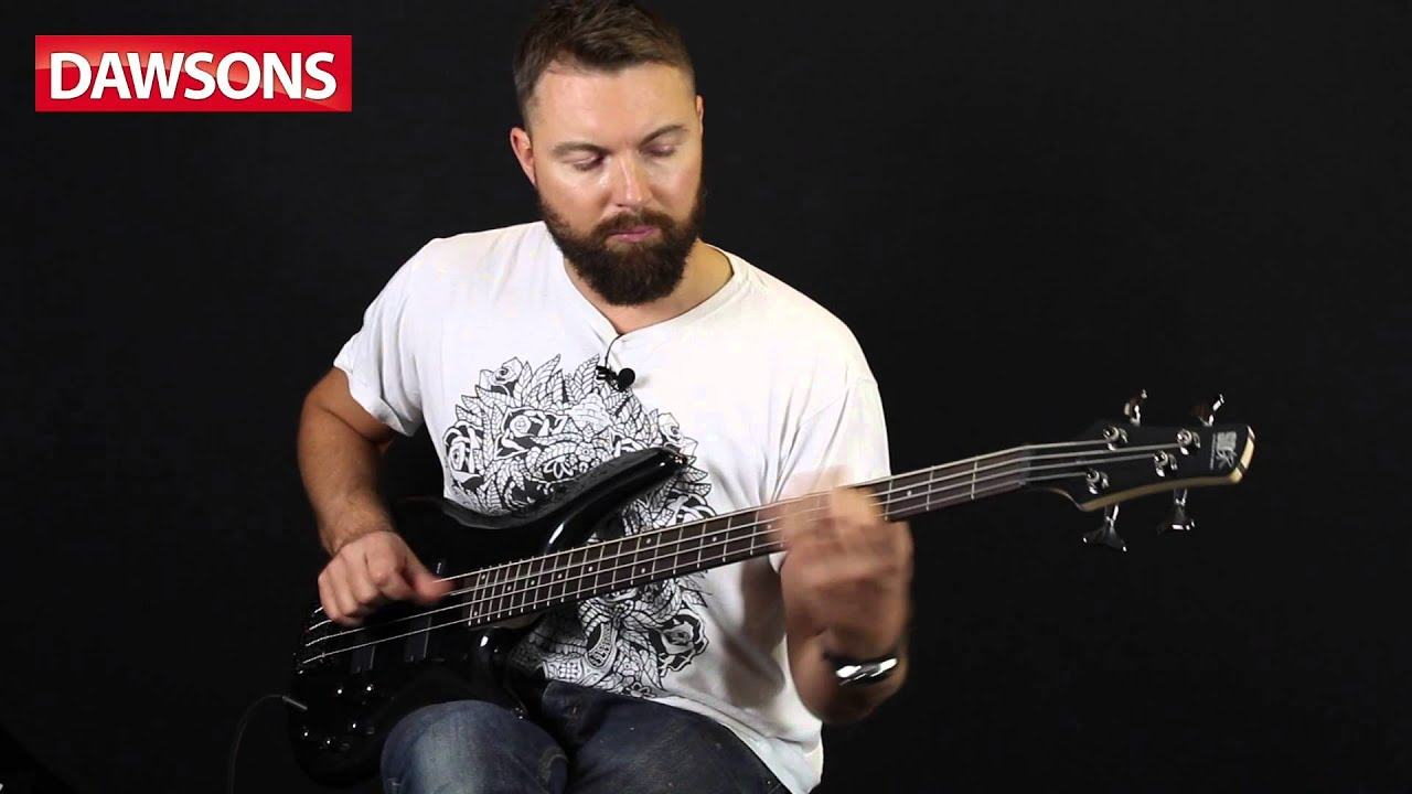 ibanez sr300 ipt bass guitar review youtube