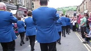 City of Chester Whit Friday 2017 Delph (Saddleworth) Walking Up