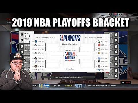 Filling Out My 2019 NBA Playoffs Bracket