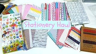 STATIONERY HAUL - STICKERS PENS WASHI - ALIEXPRESS