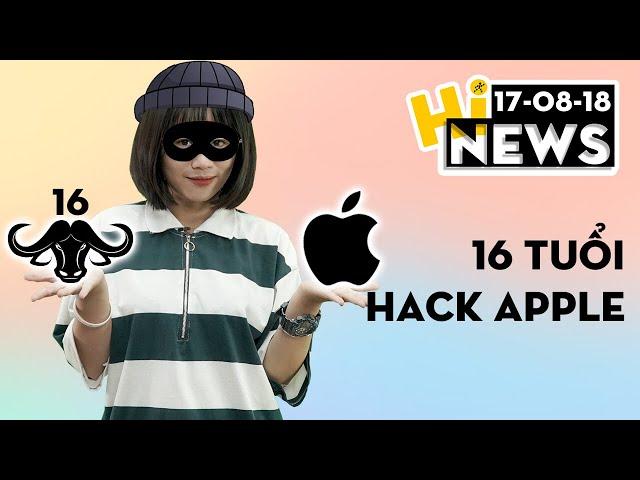 Hacker 16 tuổi vừa tấn công Apple | Hinews
