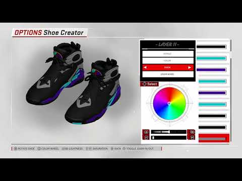 NBA 2K18 Shoe Creator NBA2K18 Jordan 1 Top 3 YouTube 1901820 ... bf0a46e5e