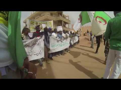 Algeria's Fracking Frontline - BBC World News