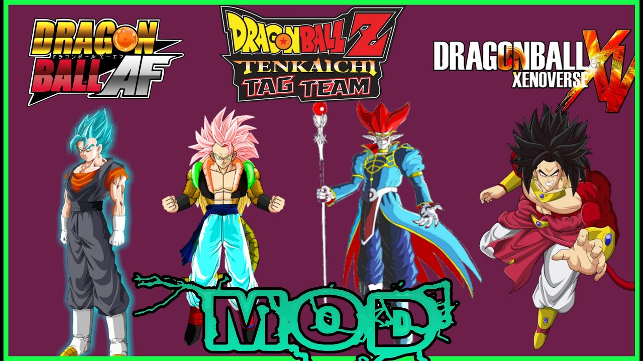 MOD para Dragon Ball Tenkachi Tag Team (Dragon Ball Xenoverse ...