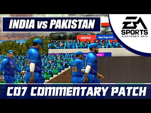 Cricket 07 Commentary Patch || DHONI-VIRAT DESTROYING PAKISTAN|| Enjoyable Innings || Ind VS Pak.