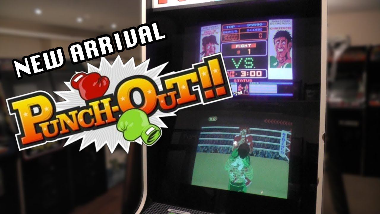 Retro Games Party New Arrival - Nintendo Punch Out And Super Punch ...