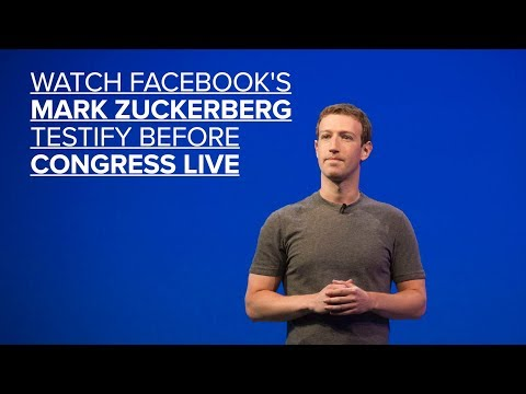 Watch Facebook's Mark Zuckerberg testify before Congress