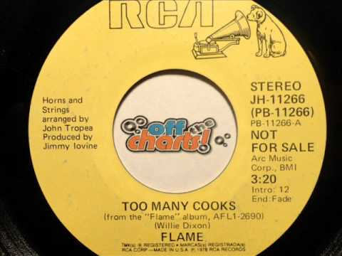 Flame - Too Many Cooks ■ Promo 45 RPM 1978 ■ OffTheCharts365