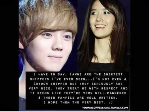 yoona and kris dating chinese