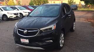 2018 Buick Encore AWD Heated Steering Black Oshawa ON Stock #181605