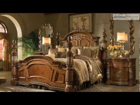 Villa Valencia Low Profile Bedroom Collection From Aico Furniture