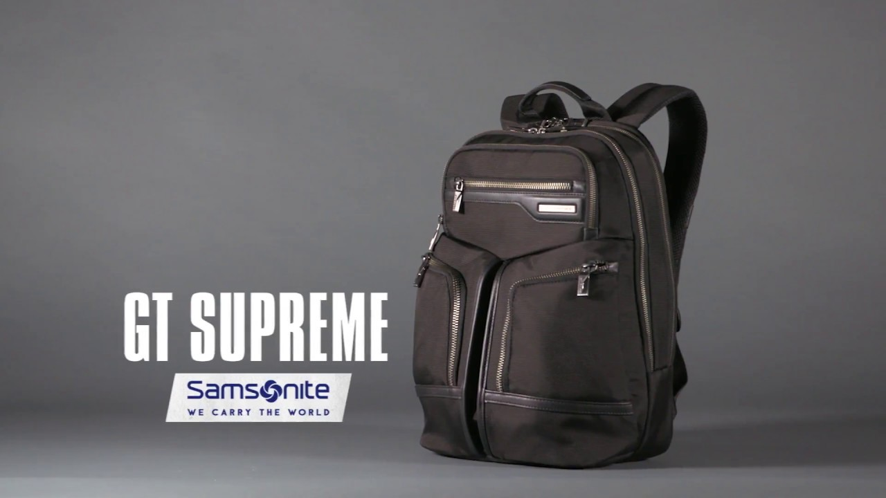 3a8a2c0ad Best Laptop Backpack | A Pinnacle of Business Style and Luxury - YouTube