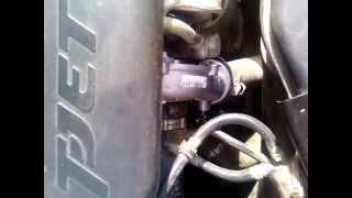 Странный пищащий звук двигателя