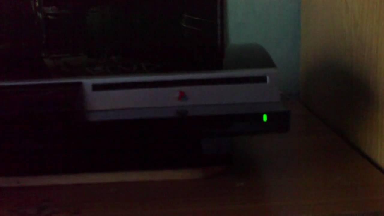 PlayStation 3 YLoD CD aus Laufwerk mit Anleitung - The yellow Light ...
